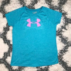 Under Armour Girls Loose Dri Fit Shirt Youth XL